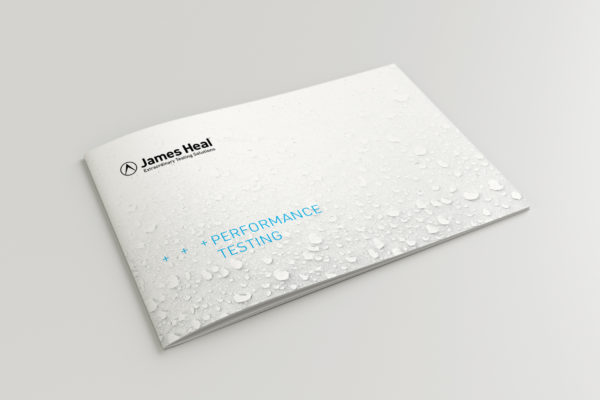 James Heal Performance Testing Brochure